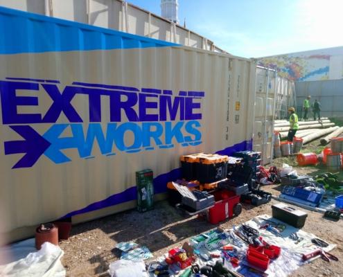 Extreme Works Macera Parkı kurulumu